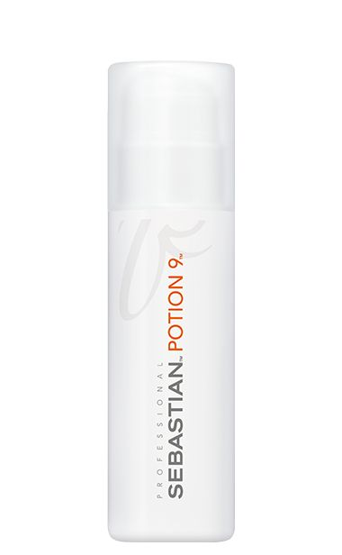 Potion 9:  Wearable styling treatment. To restore hair's natural condition, protect, enhance manageability and renew shine.