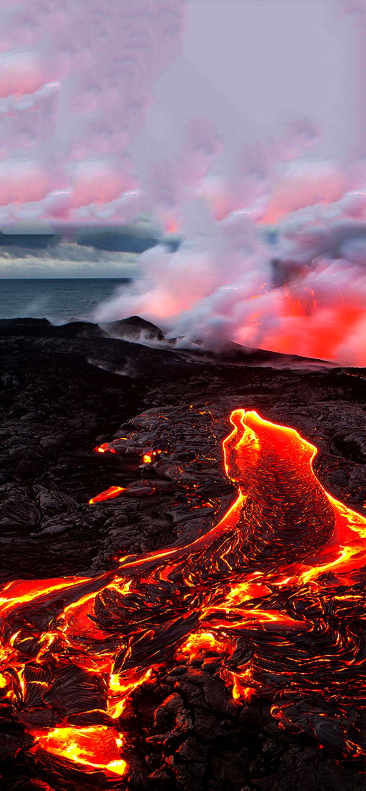 Best volcano wallpaper for iPhone x iOSwall Volcano
