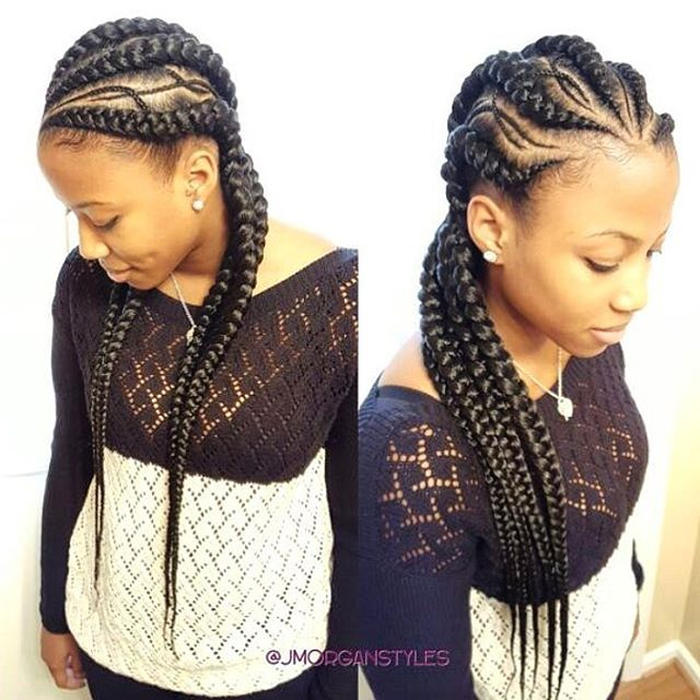STYLIST FEATURE| Love these #cornrows styled by #NashvilleStylist @jmorganstyles❤️ So different and pretty #voiceofhair