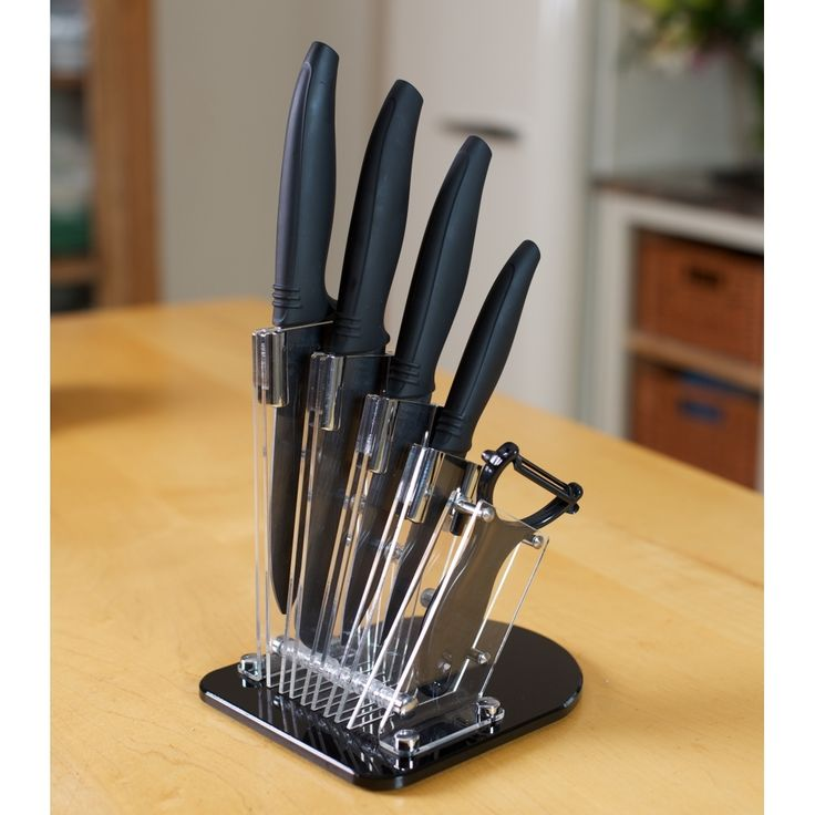 Set of 4 Ceramic Knives #gifts #kitchenware #cutlery #ceramic