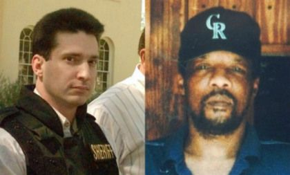 On June 7, 1998 James Byrd was killed in Jasper TX when he was picked up while hitch-hiking by Shawn Berry, Lawrence Brewer (pictured), and John King. He was beaten and chained behind their pick-up truck and dragged for three miles. Brewer was executed in September 2011; King is currently on death row and Berry is serving life without parole.  Racist Murder Of James Byrd Jr. Took Place On This Day In 1998