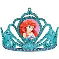 The Little Mermaid Tiara Electroplated Plastic $9.95 A255074