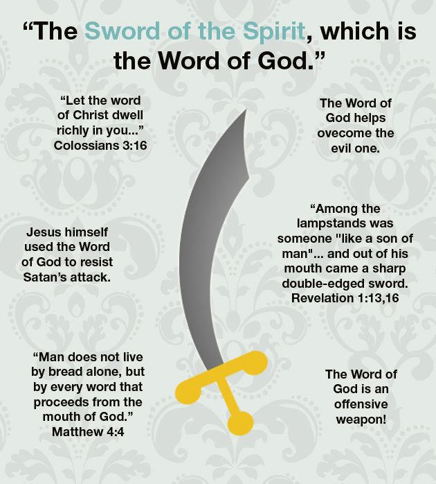 sword-of-the-spirit. Christian faith Bible verses.  The Word of God, scripture. Ladies Bible Study / Women's Ministry