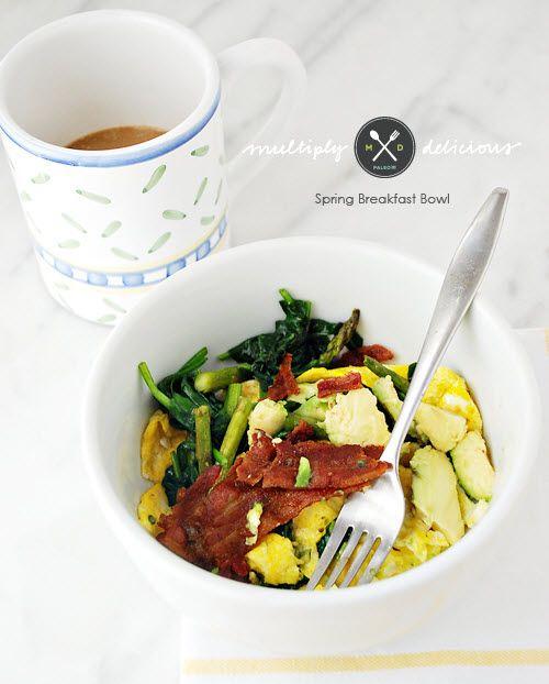 Spring Breakfast Bowl