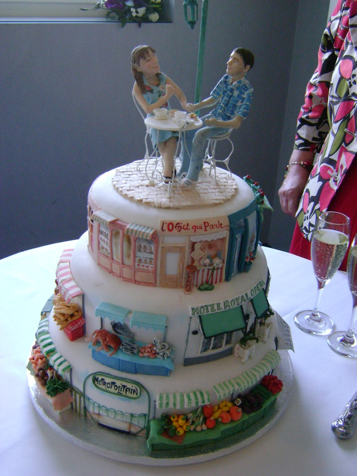 25  Best Images About Torre Eiffel Cake On Pinterest
