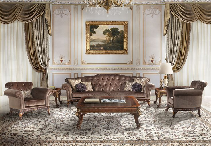MANTOVANI italian classic luxury living room furniture