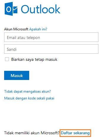 Cara Membuat Email Gratis Di Hotmail Terbaru