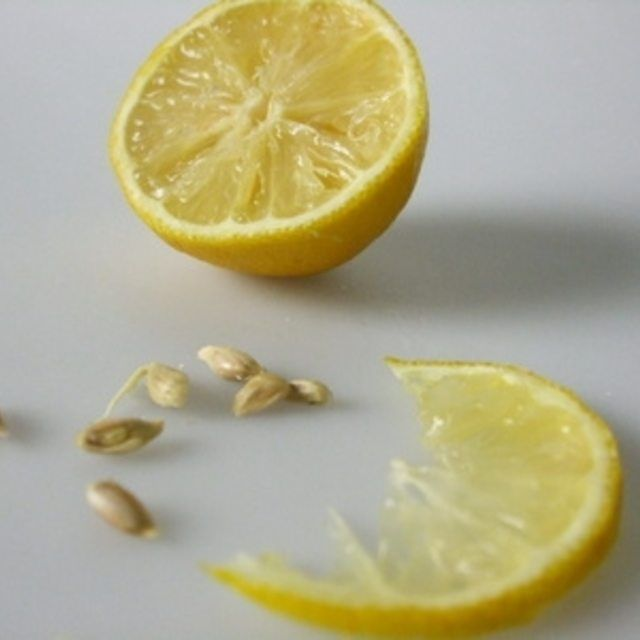 Lemon trees started from seeds take up to 15 years  to produce fruit.
