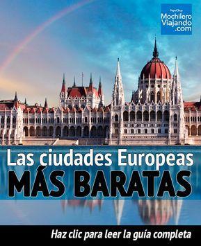 Viajar a Europa puede ser más barato de lo que imaginas, aquí encontrarás la lista con las ciudades más baratas que puedes visitar!! #Bulgaria #Budapest #Viaje #Mochilero #Hungria #Parlamento #guia #guide #europa #viajes #barato #guiadeViaje #traveltips #travel #travelblog #travelblogger #europe #varsovia #polonia #bucarest #rumania #praga #republicacheca #cracovia #sofia