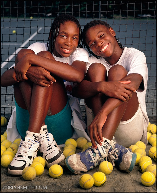 Venus & Serena Williams 1994 - Aww, when I first started following them  :)