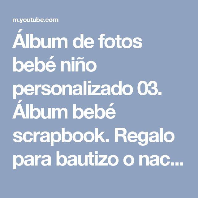Lbum de fotos beb ni o personalizado 03 lbum beb - Album de fotos personalizado ...