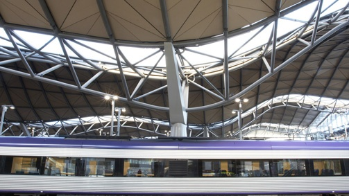 Melbourne Architectural Landmarks  | Southern Cross Station, Melbourne, Victoria, Australia