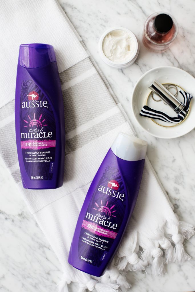 Aussie Total Miracle 7N1 Shampoo and Conditioner