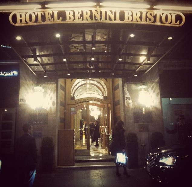 E' l'Hotel Bernini Bristol: entriamo?