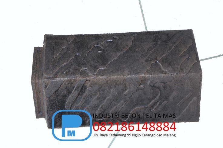 genteng beton murah, genteng beton flat murah, genteng beton flat vertical motif garis,