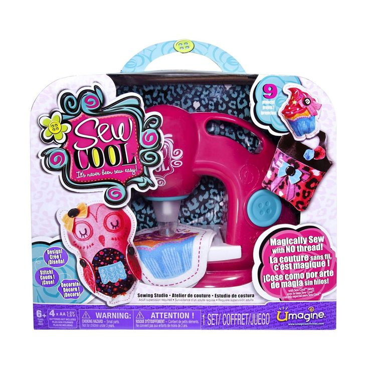 The Sew Cool Sewing Machine for girls is a fun gift for a tween girl!! ♥ ♥ Best Gifts and Toys for Tween Girls