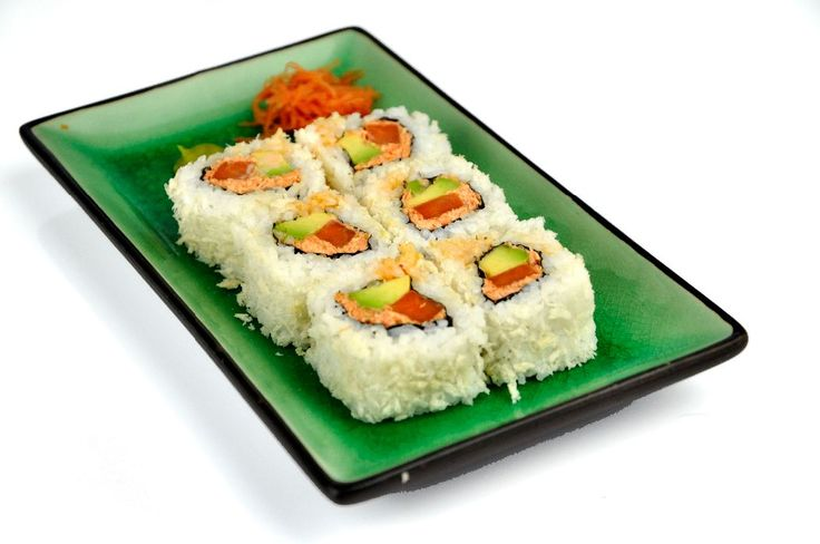 Sushi recept: Spicy carrot sushi