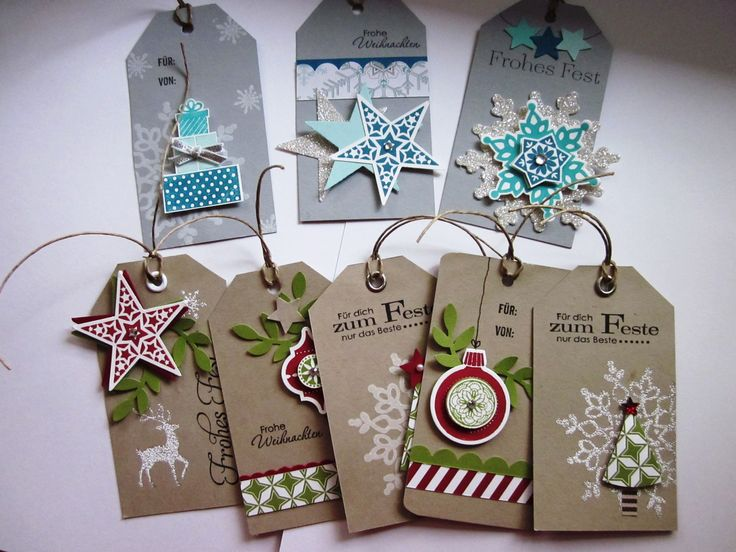 #stampin up - geschenkanhänger - weihnachten - christmas - festive flurry - warmth & wonder - wunderbare weihnachtsgrüße - wishing you - simply stars - DP stilmix - DP eiszauber - Kleiner Wortschatz - ornament keepsakes - framelits circle collection