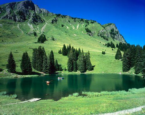 Swiss Mountain Lake