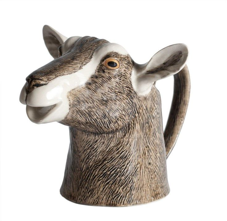 Buy quail ceramics toggenburg goat jug medium at