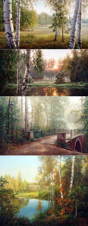 Прекрасные пейзажи Евгения Бурмакина