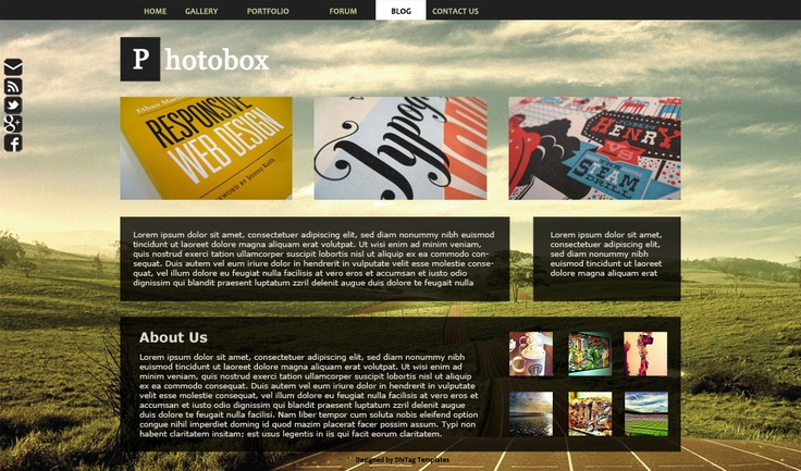 13 best website templates weebly images on pinterest for Weebly templates for photographers