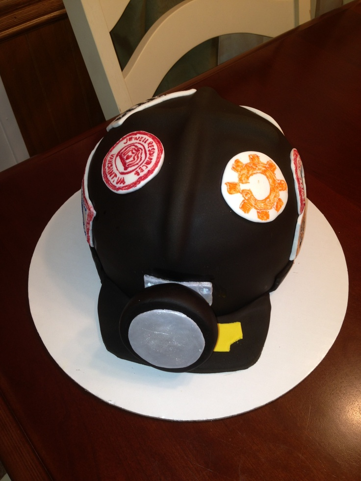 Coal Miner Cake Designs