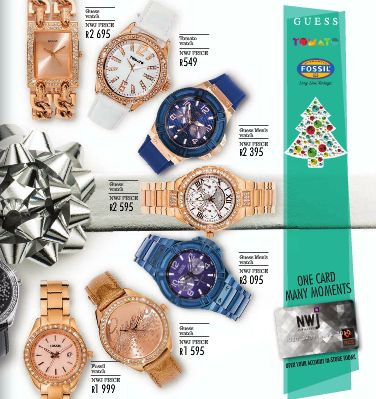 Fossil Watch Blue and Gold R2395 #myNWJwishlist Guess!!!!