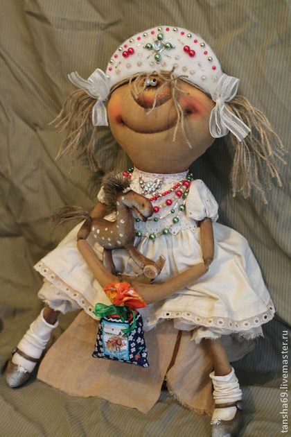 Я снижинка... - белый,примитив,примитивная кукла,примитивы,текстильная кукла
