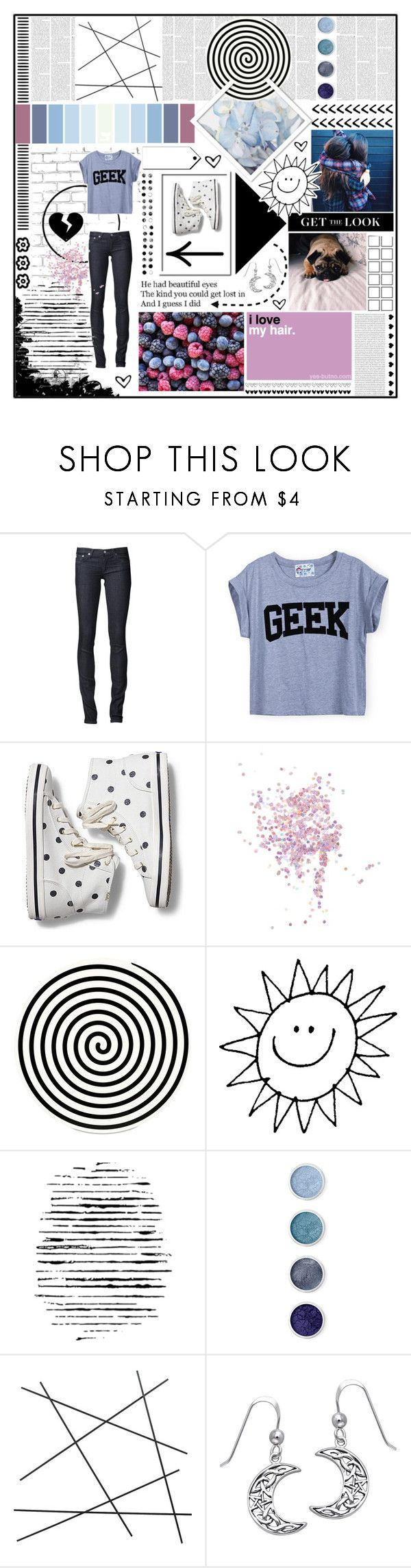 """""""polka polka dots"""" by holly-elizabeth ❤ liked on Polyvore featuring WALL, AG Adriano Goldschmied, Keds, PAM, Topshop, Altreforme, Camp, Terre Mère, CB2 and Carolina Glamour Collection"""