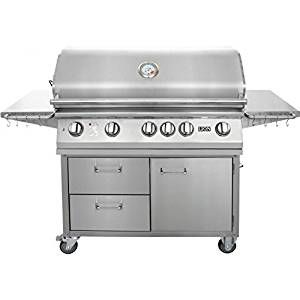 Lion 40 Inch Stainless Steel Propane Gas Grill On Cart