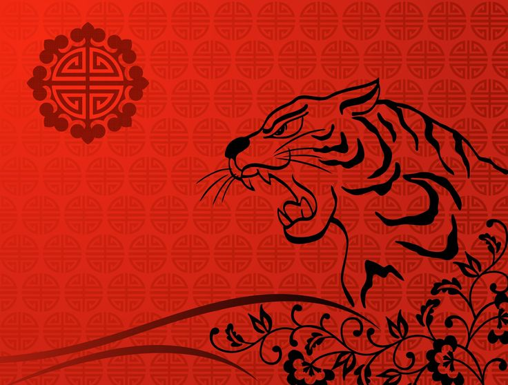 chinese new year lion art wallpaper