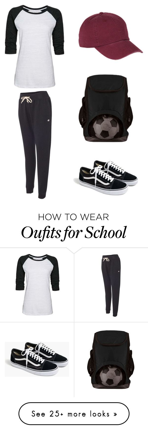 """""""School Sports Outfit"""" by nyfifth on Polyvore featuring J.Crew, BackToSchool, schoolactivewear and schoolsportsapparel"""