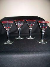 cOCKTAIL GLASSES VINTAGE LIBBEY PICKWICK MIDCENTURY SWANK LIQUOR GLASS BARWARE