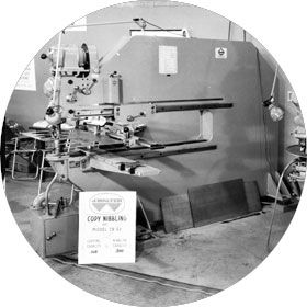 Introduction of Walter Machinery (1959-1984). Introduction of High Performance Power Tools and the first cold saw.