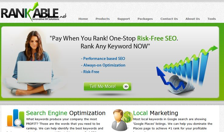 Rankable is a digital marketing product by Globussoft. It is a web-based business oriented platform. It is useful for task management and reporting system of your SEO campaigns.   See more at: http://www.globussoft.com/portfolio/digital-marketing-products/