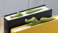Crocodile Bookmark Turns Your Books Into a Literary Swamp