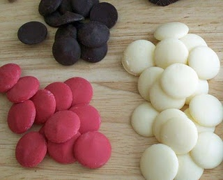 excellent page of tips for making modeling chocolate and filling candy molds