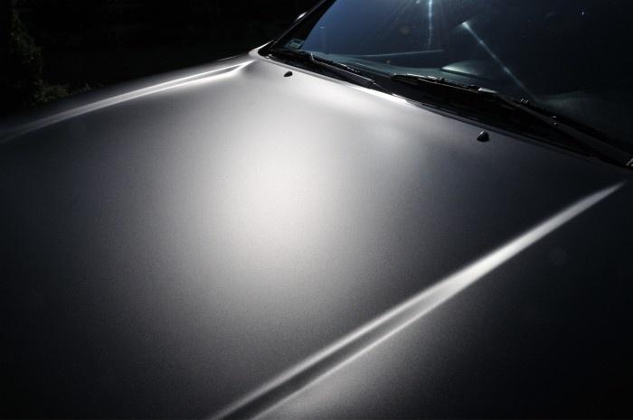 Toyota Land Cruiser 120 - black matt