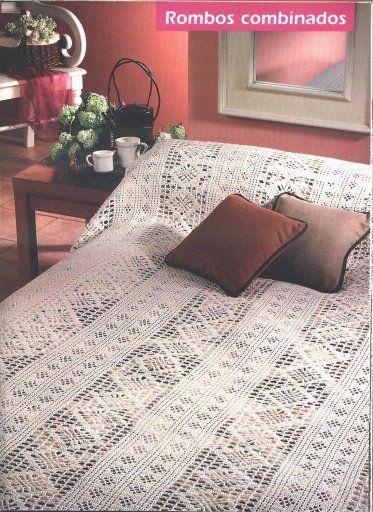 462 besten Crochet - Bedspreads Bilder auf Pinterest | Häkeln ...