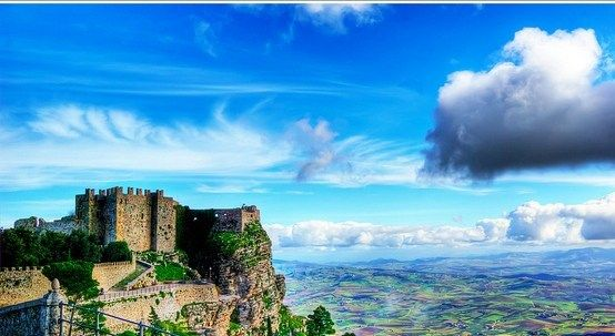 Erice,  one the best medieval hamlets of Italy