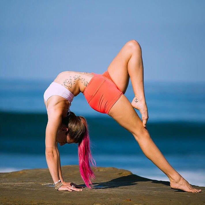 Yoga away with rivkayoga ✨
