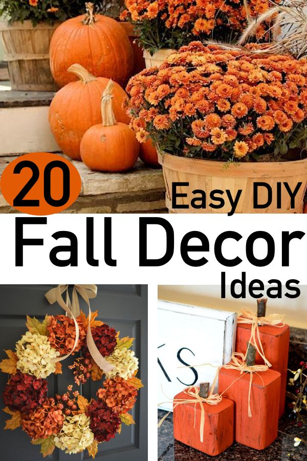 20 Easy And Festive Fall Decor Ideas The Unlikely Hostess Fall Decor Diy Easy Diy Fall Decor Diy Fall