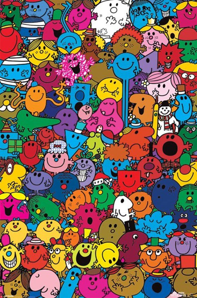 Mr Men and Little Miss - Many Miss and Men - Official Poster. Official Merchandise. Size: 61cm x 91.5cm. FREE SHIPPING