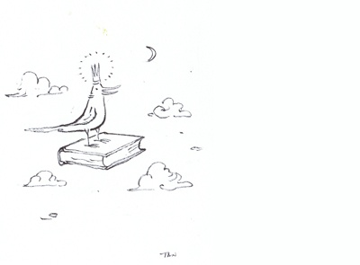 'The Miracle of the book - the Bird King' - original artwork by Shaun Tan  http://www.booksillustrated.com.au/