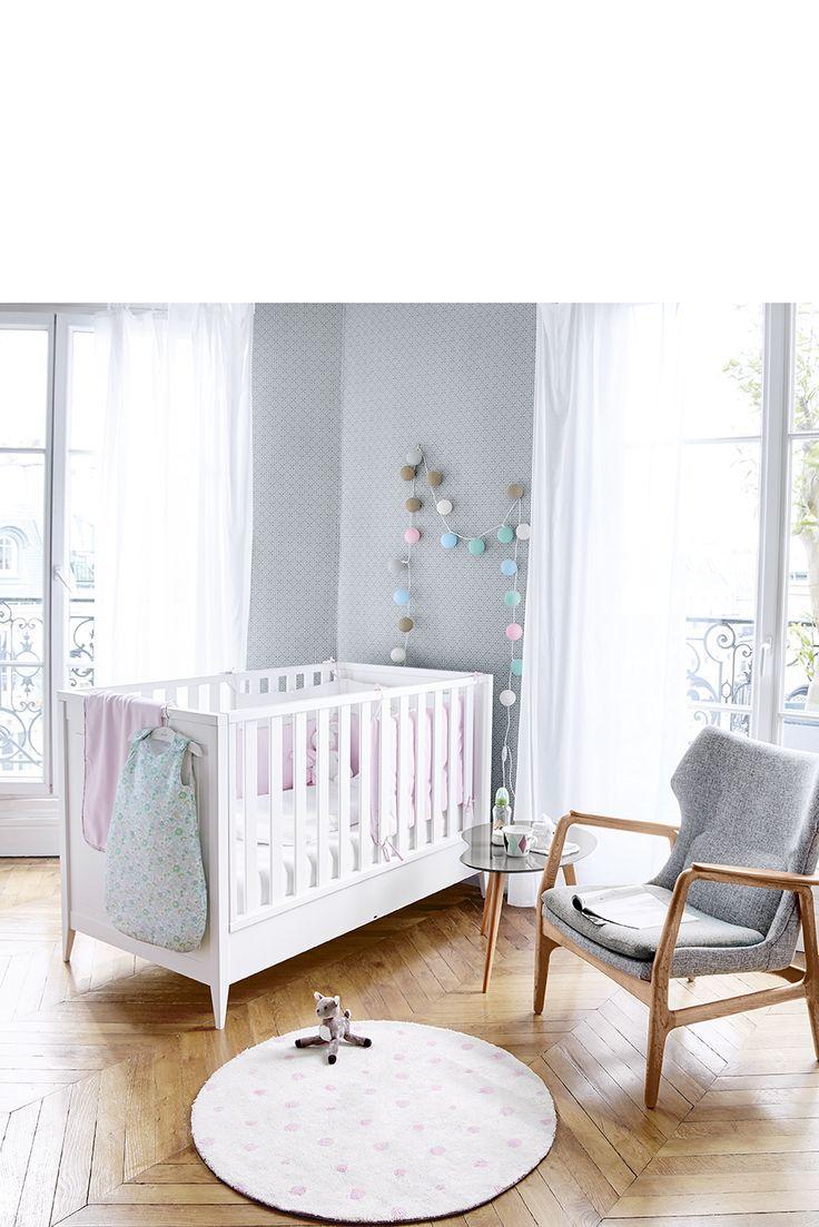 Chambre de bébé selon Jacadi...  #litbébé #gigoteuse #tourdelit #jacadi