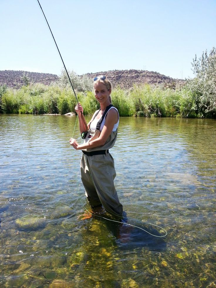 100 best women fishing images by 1bestfeet on pinterest for Best fly fishing waders