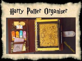 the blossom's place: Filofaxing - Harry Potter Planer / Organizer / Kalender