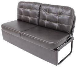 """Thomas Payne RV Jackknife Sofa with Leg Kit - 62"""" Long - Poise Dark Chocolate"""