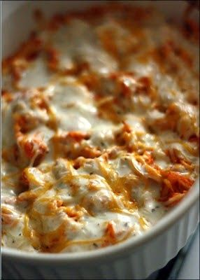 Delicious Buffalo Chicken Dip • Recipes for Dinner, #healthy, Food Guide